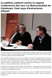 La política cultural centra la segona conferència del curs 'La M