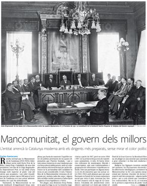 Mancomunitat, el govern dels millors